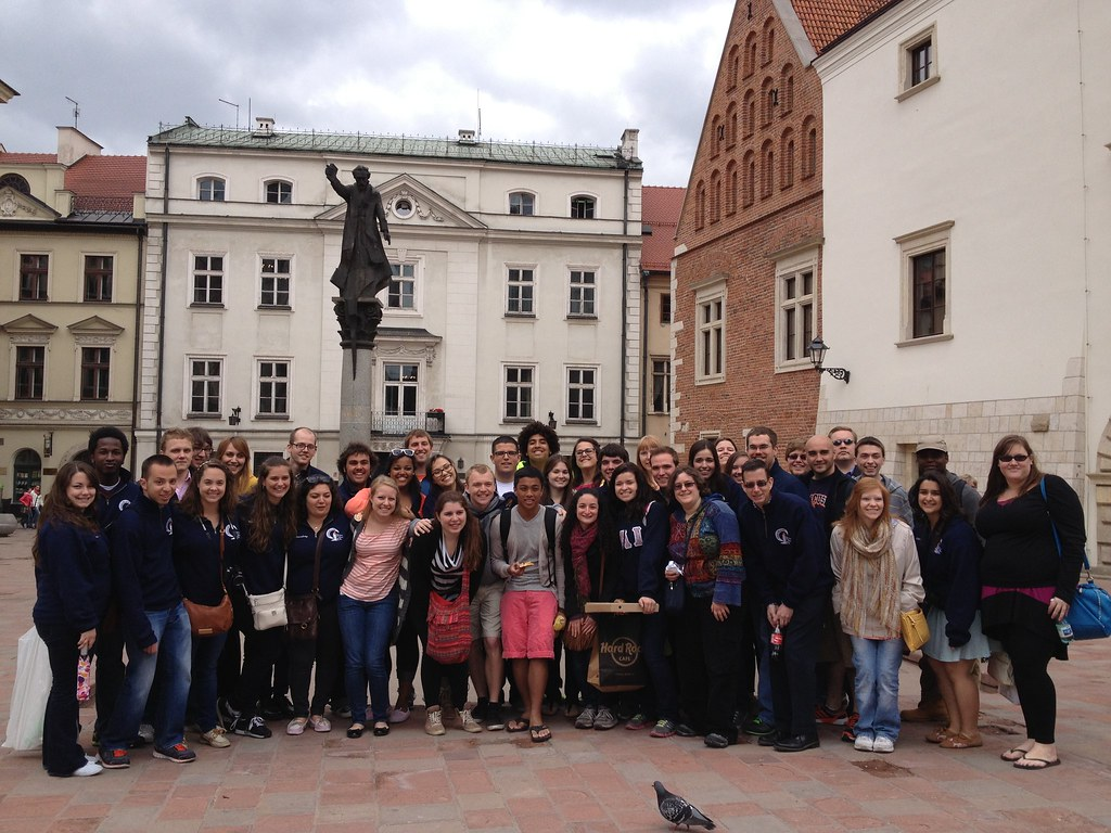 Hendricks Chapel Choir in Krakow