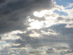 cumulus, cloud, sunlight, daytime, sky, afterglow,
