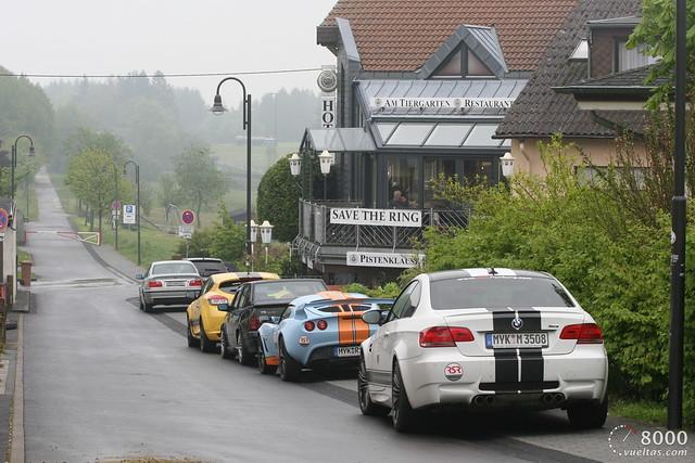 Los costos de ir al Nürburgring Nordschleife