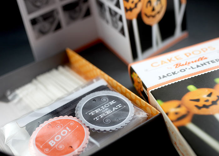 Halloween Cake Pops Mini Kit