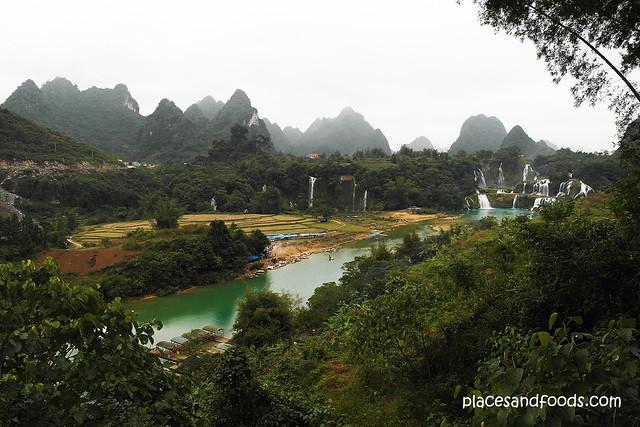 detian waterfall landscape