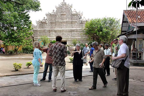 tour group in Indonesia