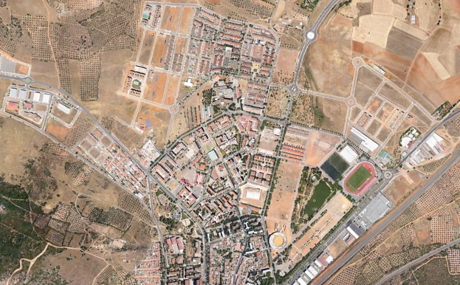 Puertollano, Ciudad Real, Flatport, City Royale, después, urbanismo, planeamiento, urbano, desastre, urbanístico, construcción, rotondas, carretera