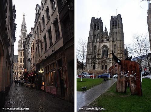 Edificis històrics a Brussel·les