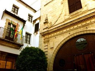 Fachada del Hotel Monasterio de San Miguel (El Puerto de Santa María)