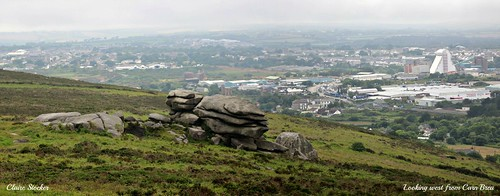 Carn Brea - looking west by Stocker Images