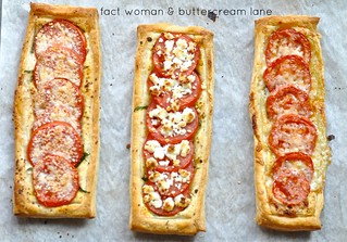 Zen Tomato Tarts From Fact Woman & Buttercream Lane