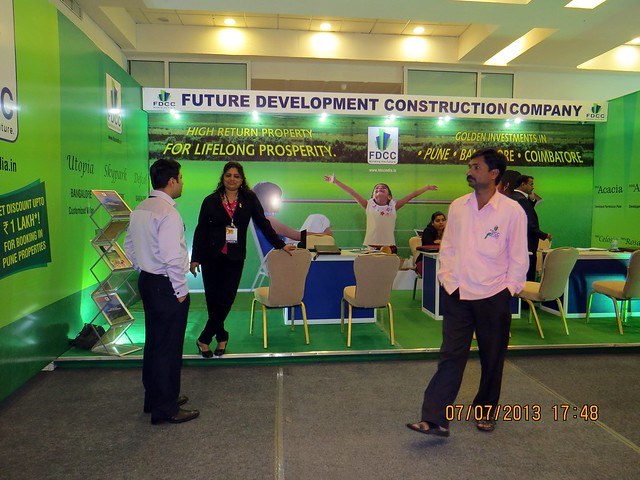 Future Development Construction Company (FDDC) (www.fdccindia.in) - Visit 'East of Pune', Times Property Showcase, 7th & 8th July 2013, Hotel Hyatt Regency, Nagar Road, Pune