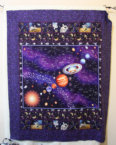 Space Quilt Top