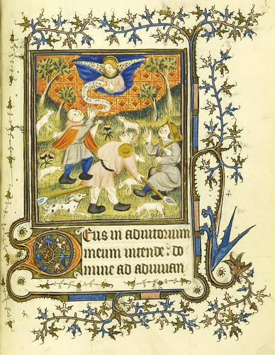 011-Horae Beatae Virginis Mariae…73r- Biblioteca Nacional de Varsovia
