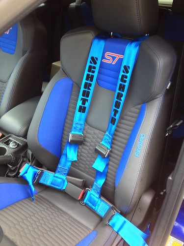 Schroth Rallye 4 ASM Four point harness install