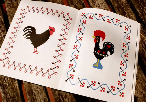 Roosters' patterns