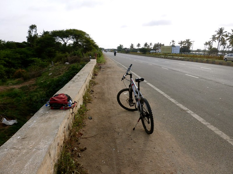 Cycling to Nandi Hills - Highway to the hills