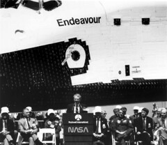 Space Shuttle Endeavour Rollout
