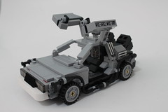 LEGO CUUSOO Back to the Future DeLorean Time Machine (21103)