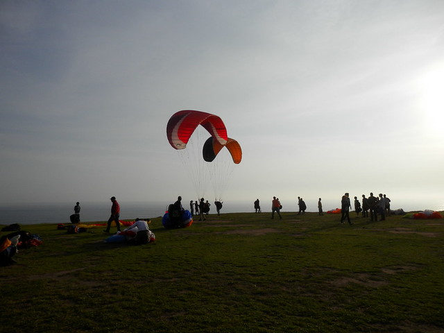 Paragliding in Lima - 5