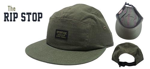 Sportiqe Rip Stop Hat