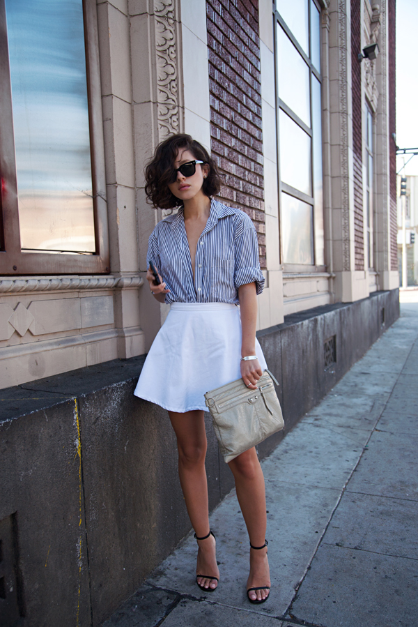 A Twist on Wearing Your Button Down Shirt