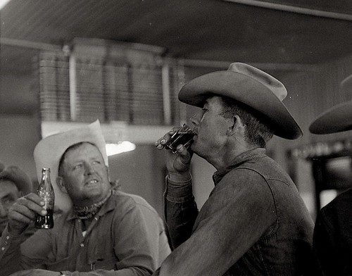 Cowboy in Bar. Source unknown.
