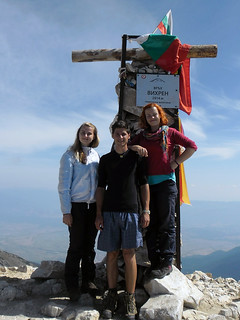 Na vrcholu Pirinu