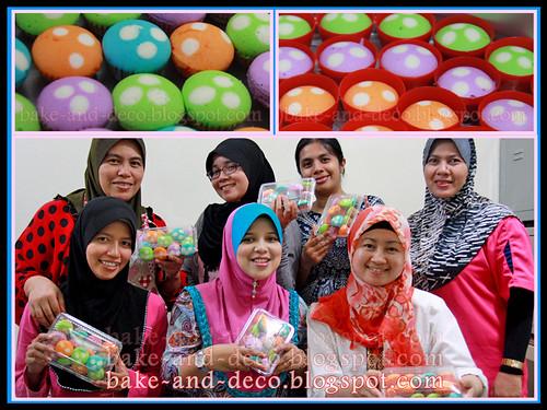 Baking & Deco Class: Apam Polkadot ~ 7 Oct 2012