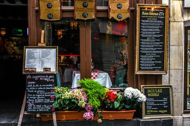 Rue Mouffetard de París