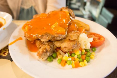 Pさま的雞扒餐