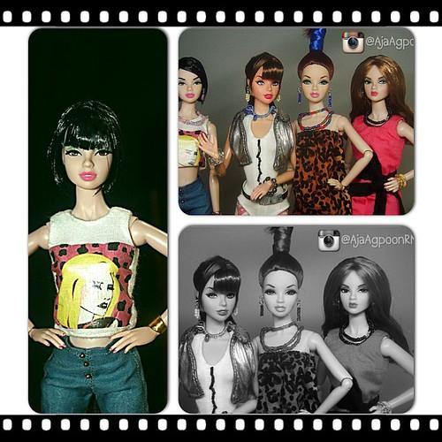 #ateliernishasha #dynamitegirls #fashiondolls  #dolls #2ne1 #kpop by ateliernishasha