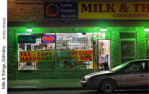 Milk & Things. Grimsby – (HDR/Hybrid)