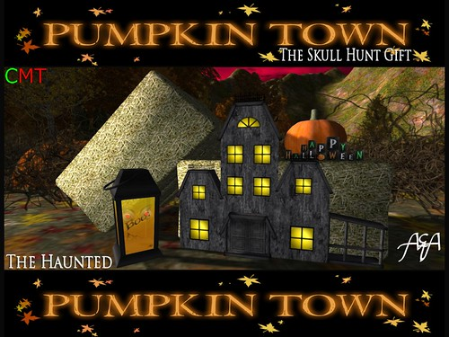 ::A&A:: The Haunted - Pumpkin Town Hunt Gift by Alliana Petunia