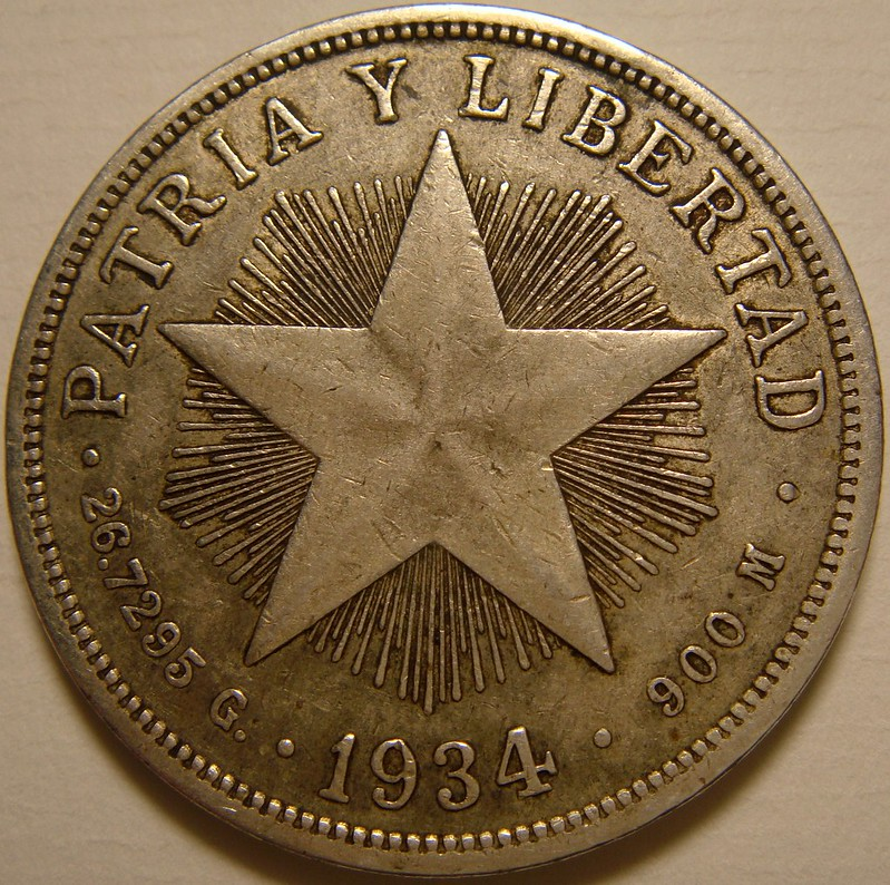 1 Peso. Cuba. 1934 9973499973_331b248a2f_c