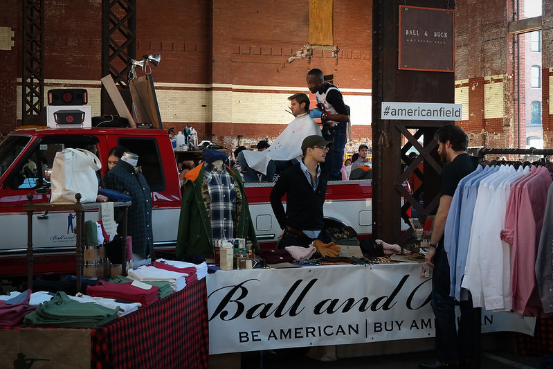The All American #AmericanField Pop-Up Market