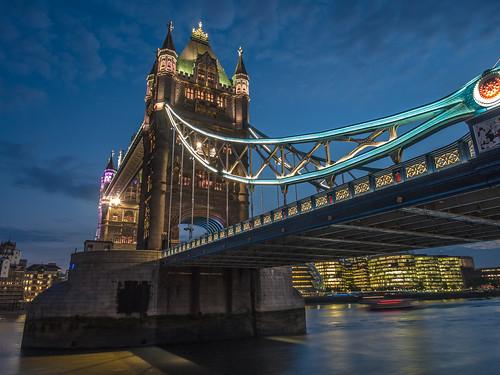 Tower Bridge in twilight