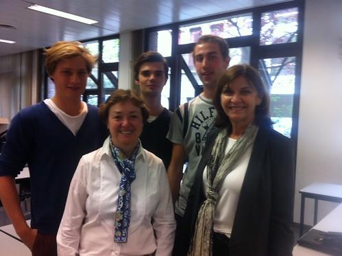 US LLM Programs Visit Belgium