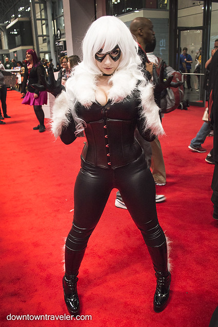 NY Comic Con Womens Costume Black Cat