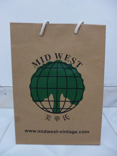 midvest vintage shopping bag
