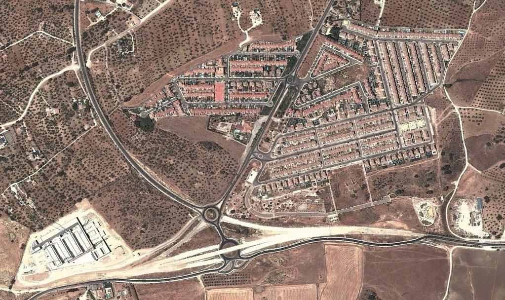 rosalejo, málaga, urba urba urbanización, después, urbanismo, planeamiento, urbano, desastre, urbanístico, construcción, rotondas, carretera