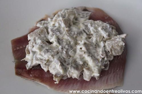 Sardinas rellenas de setas www.cocinandoentreolivos (9)