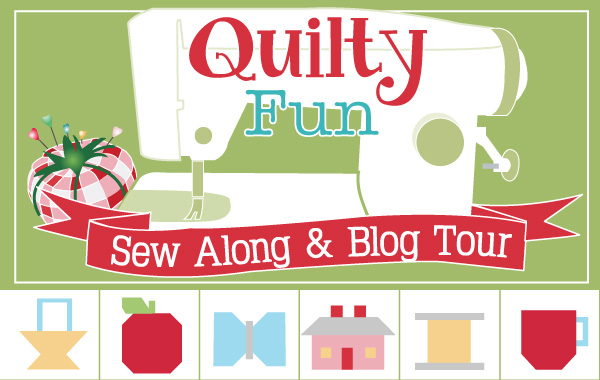 Quilty Fun Sew Along & Blog Tour