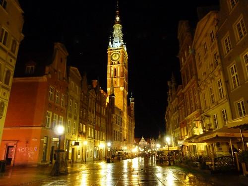 Gdansk por la noche