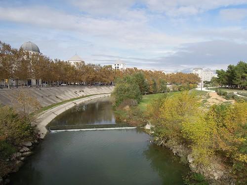 市内を流れる川