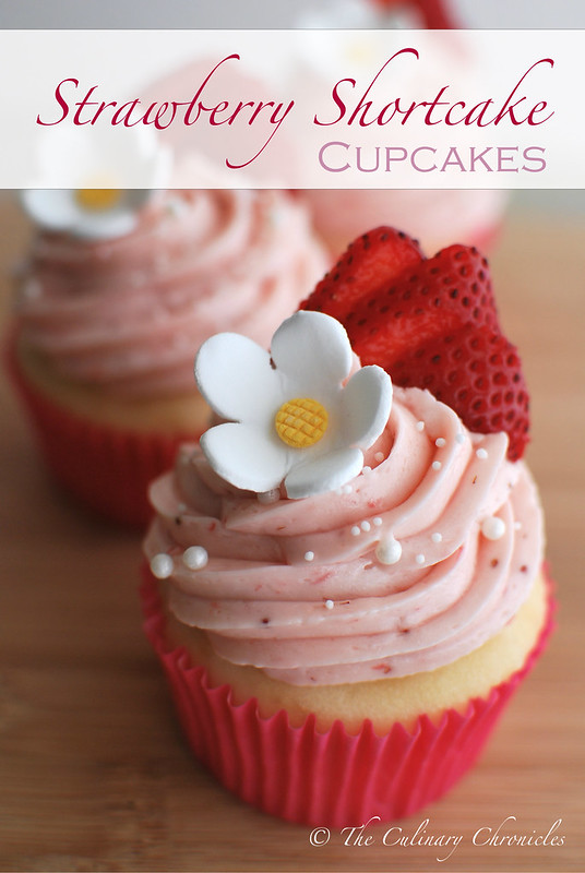 We just turned F-O-U-R + Strawberry Shortcake Cupcakes! | The Culinary ...