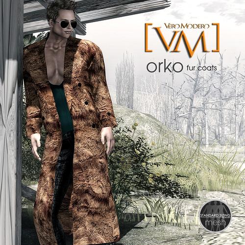 [VM] VERO MODERO Orko Fur Coats