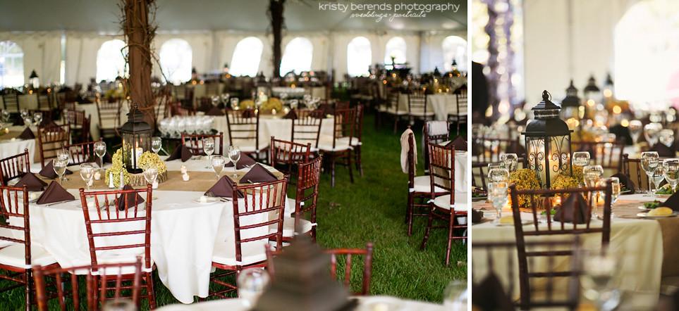 48 Tented Wedding Reception