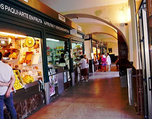 Markthalle in der Plaza Corredera