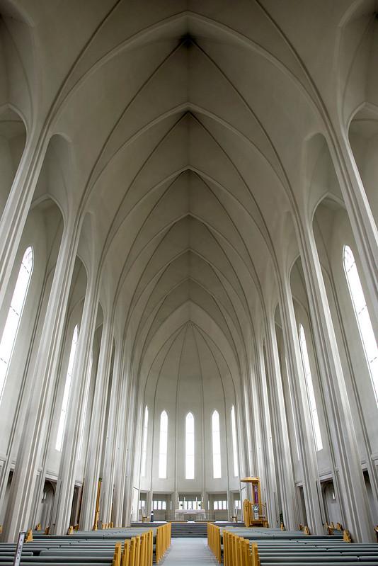Hallgrímskirkja - church in Iceland