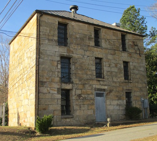 Old Coosa County Jail (Rockford, Alabama)