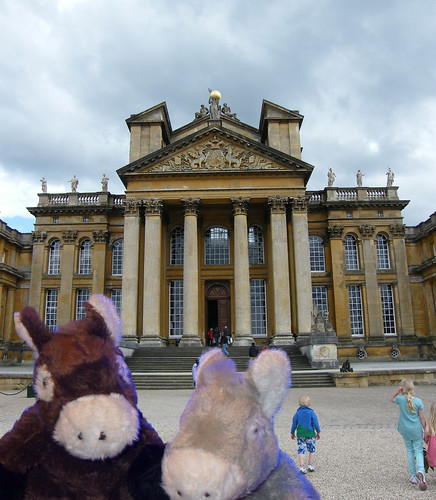 UWE Staff Social trip to Blenheim Palace with Staff Social mascots - June 2013
