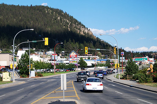 Williams Lake, Cariboo Highway 97, Cariboo, British Columbia, Canada