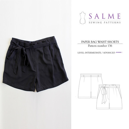 136_Salme_Sewing_Patterns_Paper_bag_waist_shorts_grande